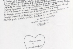 Carta romántica 9