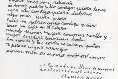 Carta romántica 18