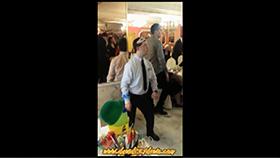 David bailando en Nochevieja