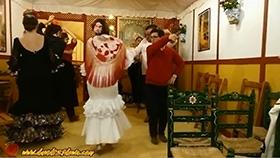 David bailando sevillanas