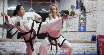 Marisa, una maestra de taekwondo