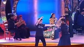 David bailando en Yo Soy del Sur