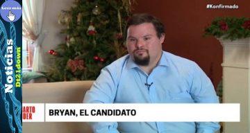 Bryan Russell, el candidato con síndrome de down
